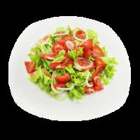 Салат овощной с имбирем