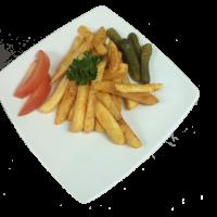 Картофель фри. Соломка по домашнему с овощами